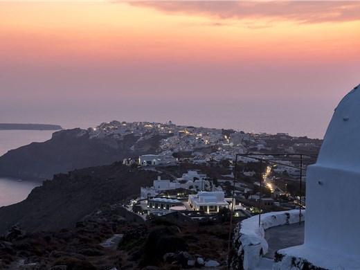 Santorini Caldera Walking Tour and Sunset Viewing in Oia - Walking & hiking Tours - Santorini View