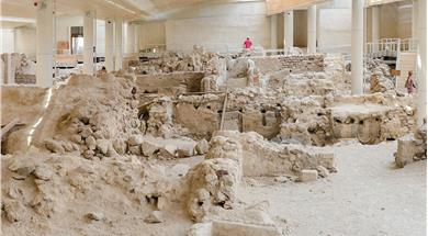 Excavations of Akrotiri - Museums - Santorini