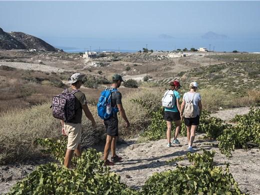 Culinary journey along the south coast of Santorini - Walking & hiking Tours - Santorini View