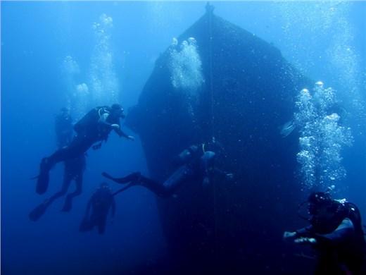 Explore Two Dive Sites in Santorini - Scuba diving & snorkeling - Santorini View