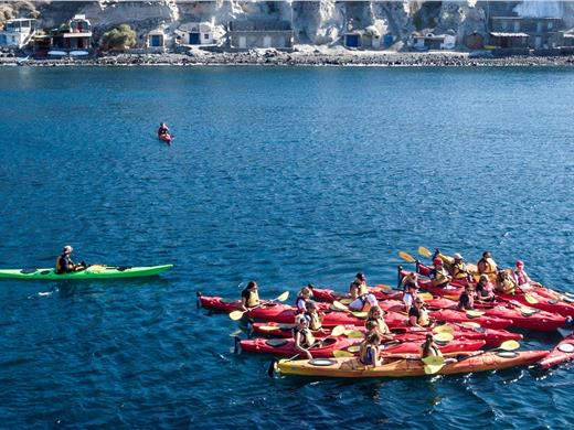 Santorini Sea Kayaking Tour - Water sports - Santorini View
