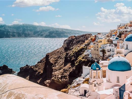 Full-Day Santorini Sightseeing Bus tour with Sunset in Oia - Bus tours - Santorini View