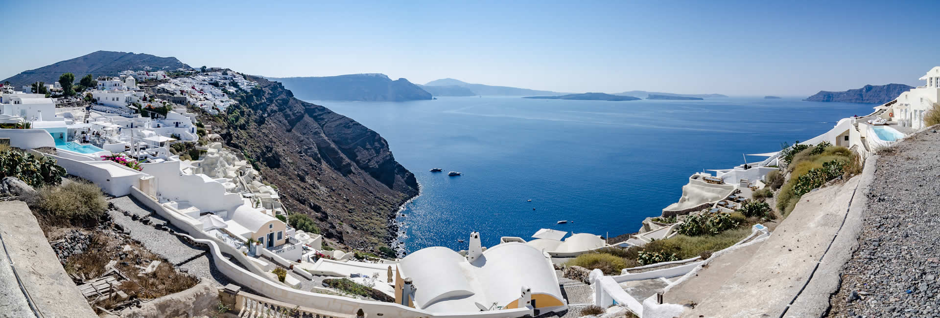 santorini weather temparatures