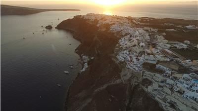 Oia Sunset Caldera View - Santorini