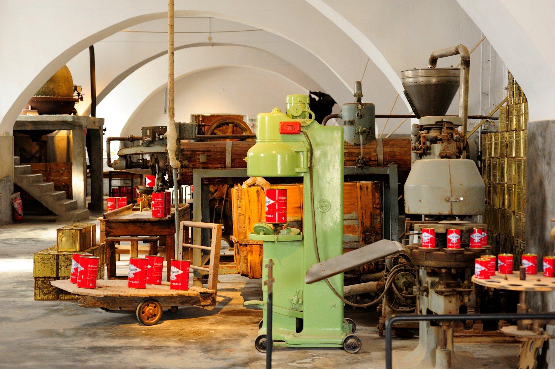 Tomato Industrial Museum - Museums - Santorini