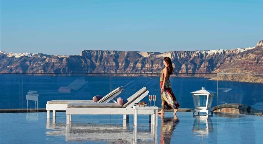 Acroterra Rosa, Hotels in Akrotiri, Greece - Santorini View