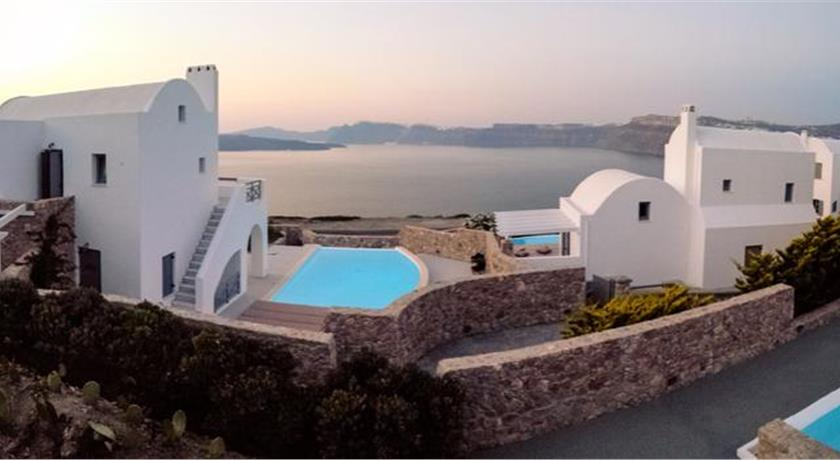 Adelante 88 Villas, Hotel in Akrotiri, Greece - Santorini View