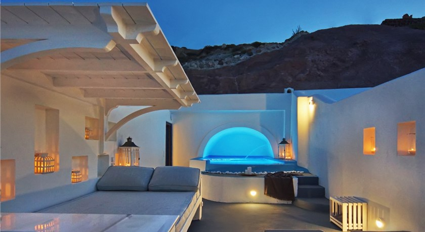 Astarte Suites, Hotel in Akrotiri, Greece - Santorini View
