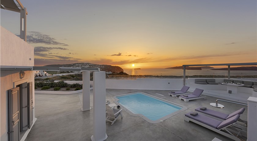 Hemera Holiday Home, Hotels in Akrotiri, Greece - Santorini View
