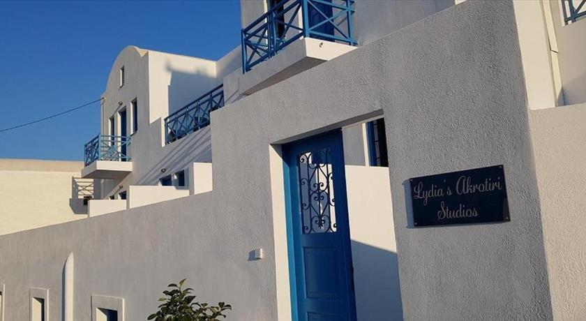 Lydia's Akrotiri Studios, Hotel in Akrotiri, Greece - Santorini View