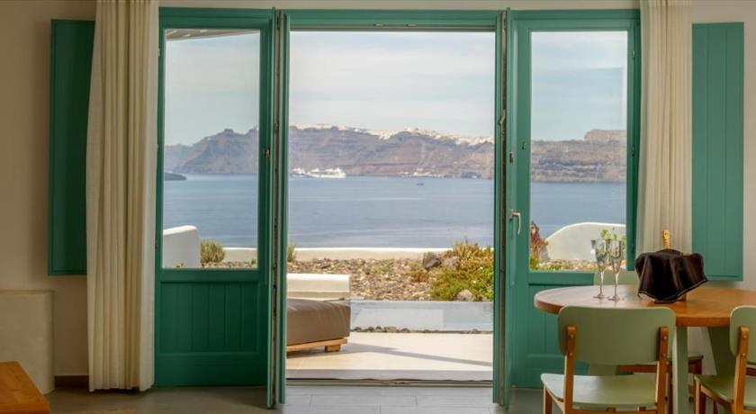 Neptune Luxury Suites, Hotel in Akrotiri, Greece - Santorini View