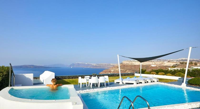 Santorini Princess Presidential Suites, Hotel in Akrotiri, Greece - Santorini View
