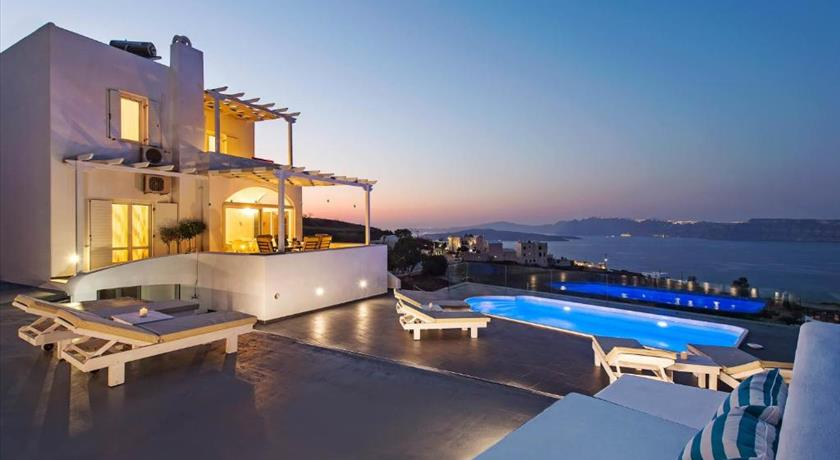 The Zen Villa, Hotel in Akrotiri, Greece - Santorini View
