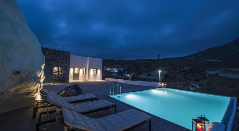 Insolito Villa, Hotels in Emporio, Greece - Santorini View