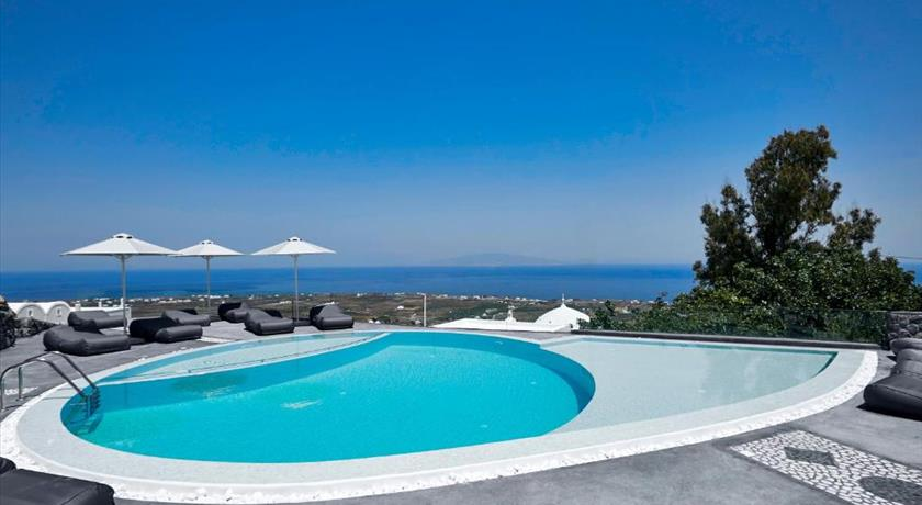 Aperanto Suites, Hotel in Finikia, Greece - Santorini View