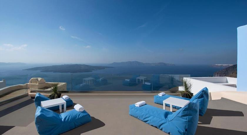 Aeon Villa, Hotel in Fira, Greece - Santorini View