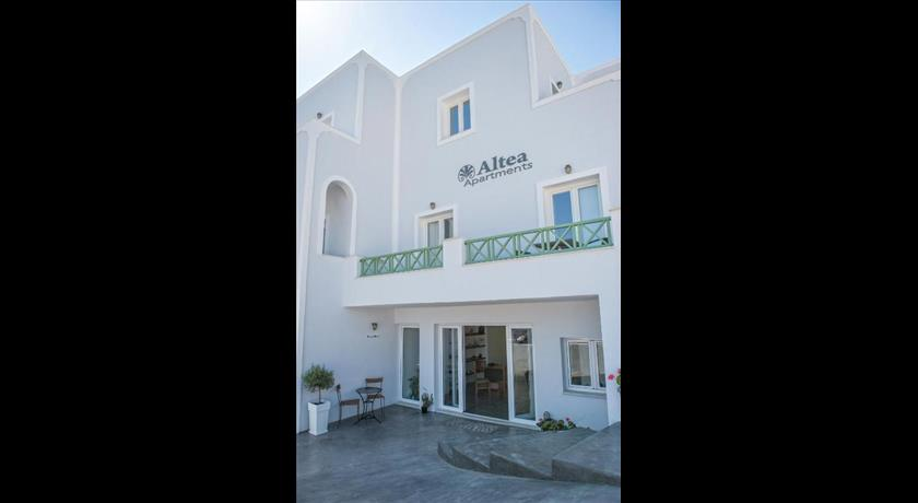 Altea Apartments, Hotels in Fira, Greece - Santorini View