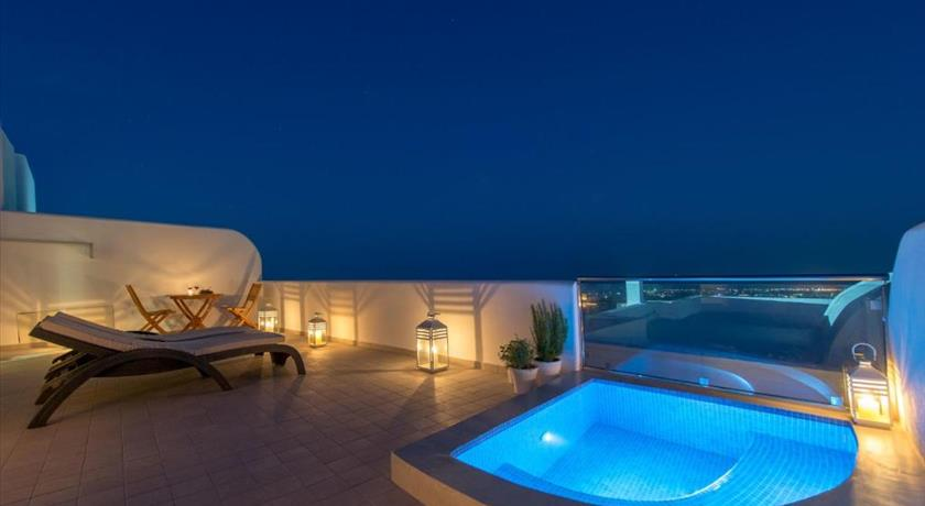 Anamnesis City Spa, Hotel in Fira, Greece - Santorini View