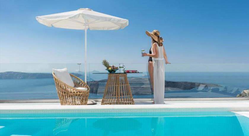 Anteliz Private Villa, Hotels in Fira, Greece - Santorini View