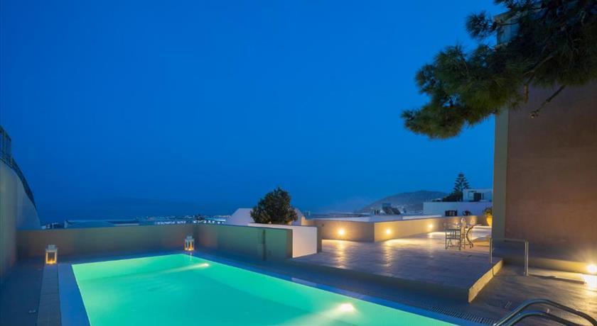 Aria Lito Mansion, Hotel in Fira, Greece - Santorini View