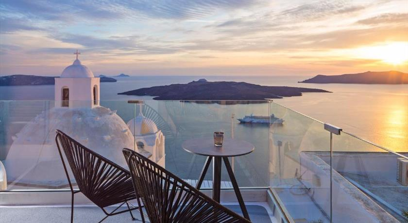 Aroma Suites, Hotel in Fira, Greece - Santorini View