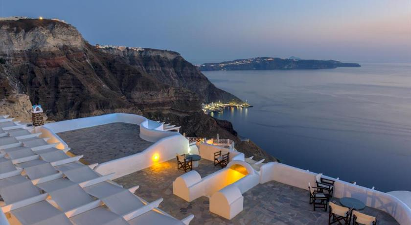 Caldera Butterfly Villas, Hotel in Fira, Greece - Santorini View