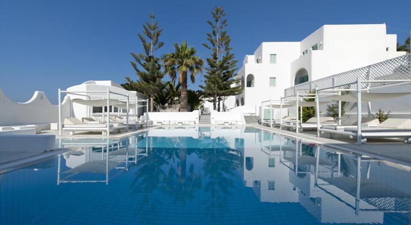 Daedalus Hotel, Hotels in Fira, Greece - Santorini View