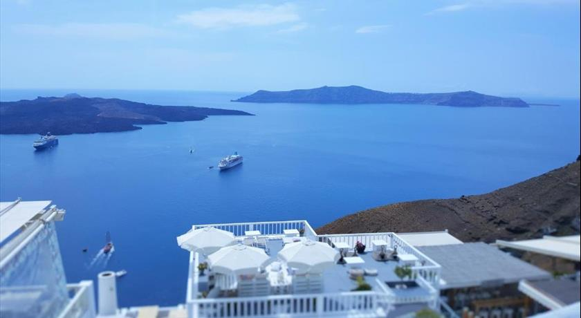 Katris Apartments, Hotels in Fira, Greece - Santorini View