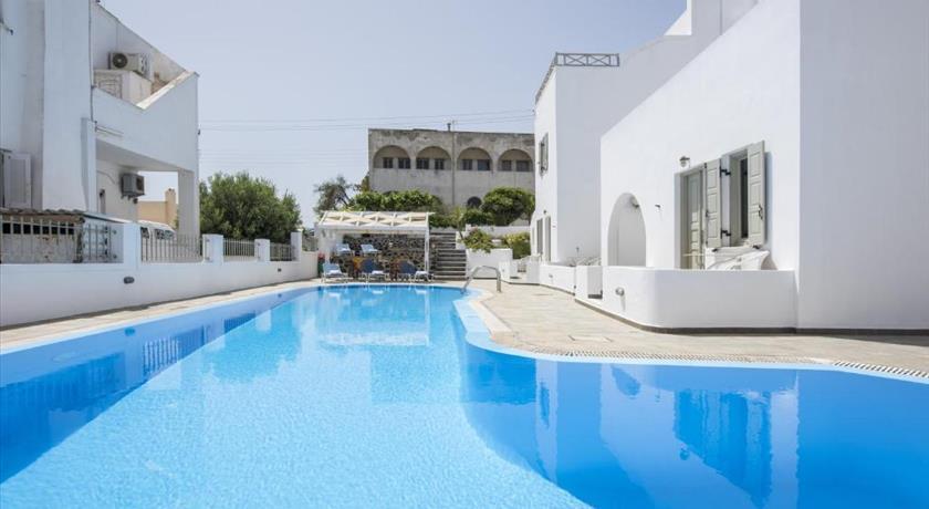 Nissos Thira, Hotel in Fira, Greece - Santorini View