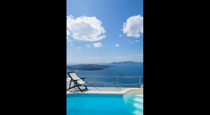 Nonis Apartments, Hotel in Fira, Greece - Santorini View