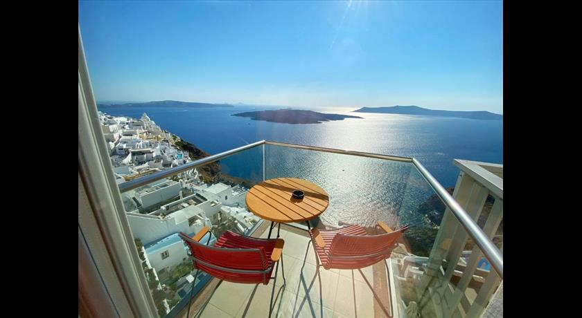 Panorama Boutique Hotel, Hotels in Fira Caldera - Santorini View