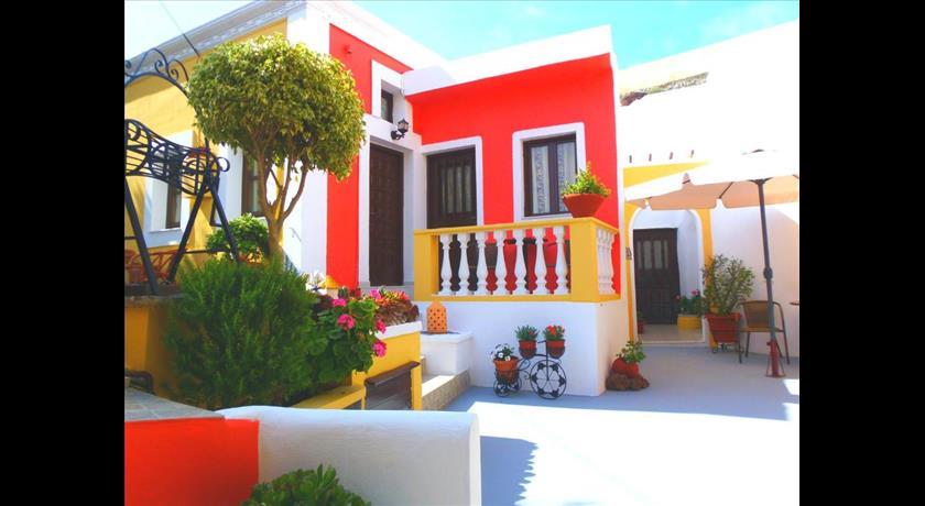 Pansion Zaharoula, Hotels in Fira, Greece - Santorini View