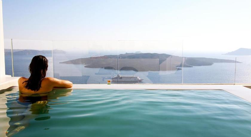Porto Fira Villas, Hotel in Fira, Greece - Santorini View
