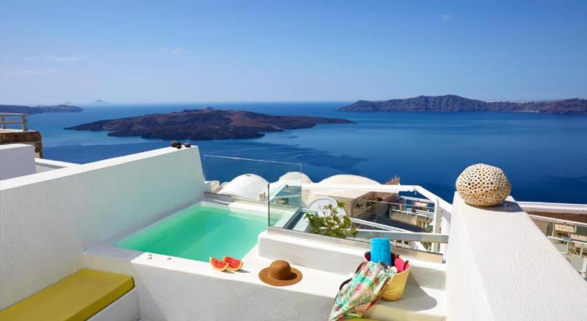 Santorini Royal Suites, Hotels in Fira, Greece - Santorini View