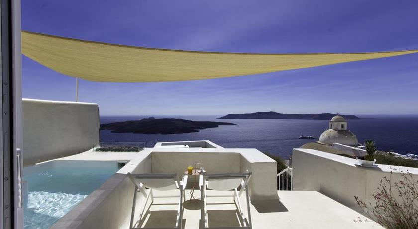 Villa Aesthesis, Hotels in Fira, Greece - Santorini View