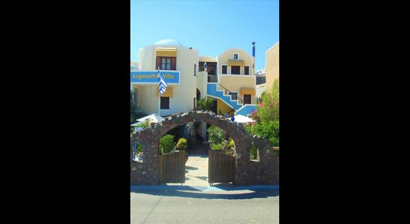 Argonaftes, Hotel in Firostefani, Greece - Santorini View