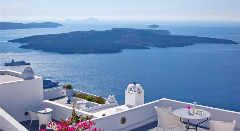 Cliff Side Suites, Hotel in Firostefani Caldera - Santorini View
