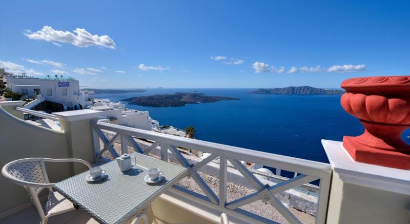Ellinon Thea Boutique Hotel, Hotels in Firostefani, Greece - Santorini View