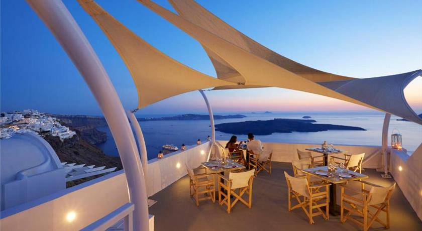 Ira Hotel & Spa, Hotel in Firostefani, Greece - Santorini View