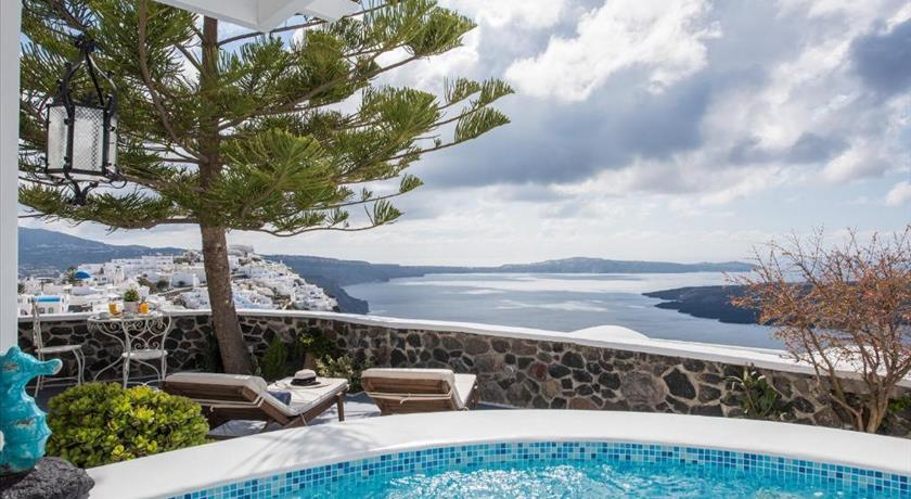 Morfes Luxury Residence, Hotels in Firostefani, Greece - Santorini View