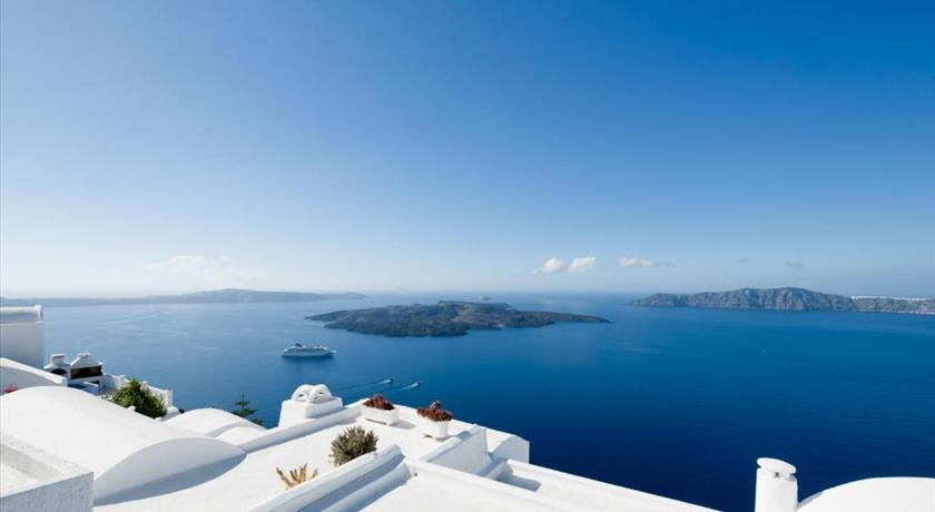 Vallas Apartments & Villas, Hotels in Firostefani, Greece - Santorini View