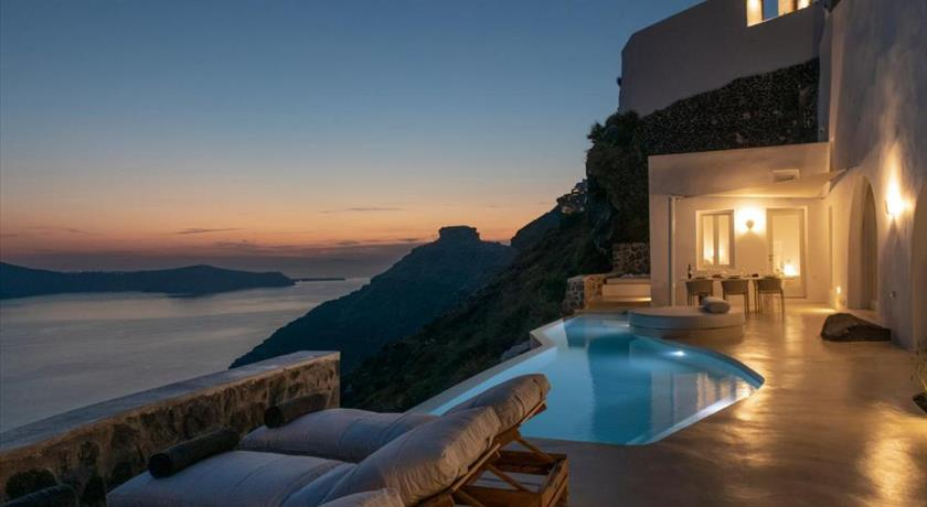 Villa Dio, Hotels in Firostefani, Greece - Santorini View