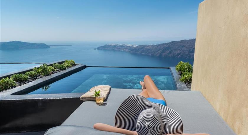 Andronis Concept Wellness Resort, Hotels in Imerovigli, Greece - Santorini View