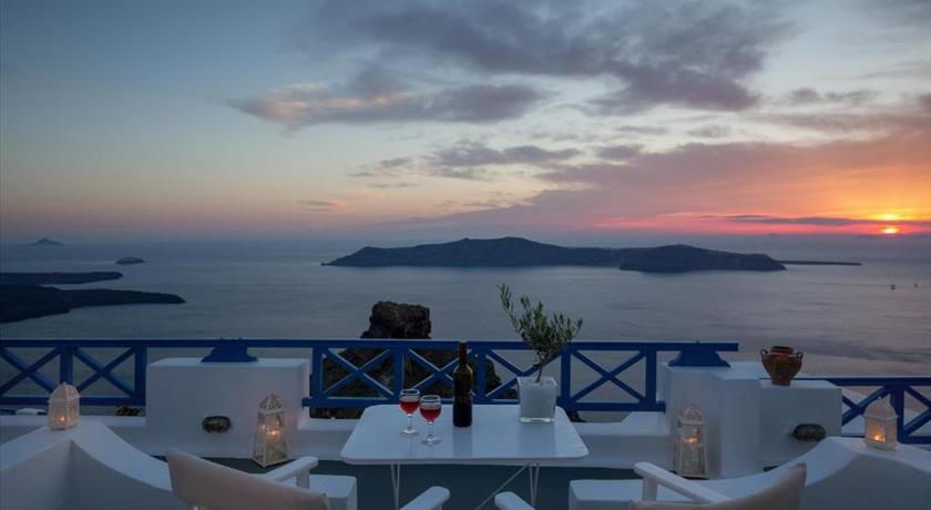 Annio Flats, Hotels in Imerovigli, Greece - Santorini View