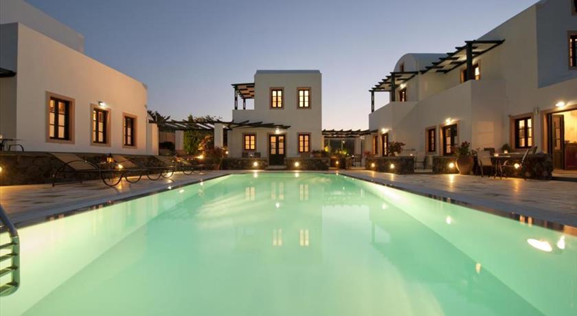 Anthonas Apartments, Hotel in Imerovigli, Greece - Santorini View