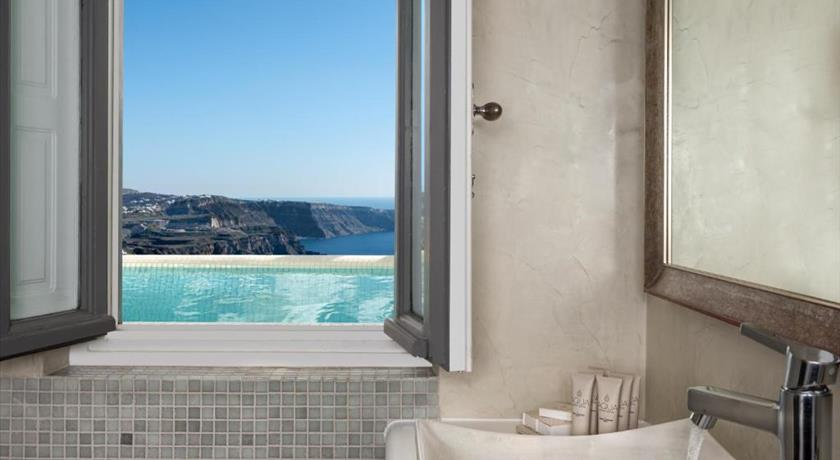 Aqua Mare Luxury Suites, Hotel in Imerovigli, Greece - Santorini View