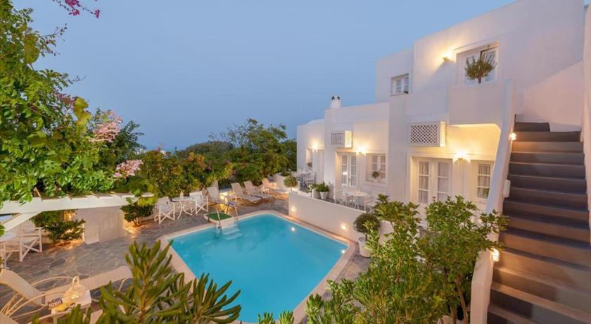 Casa Bianca, Hotel in Imerovigli, Greece - Santorini View