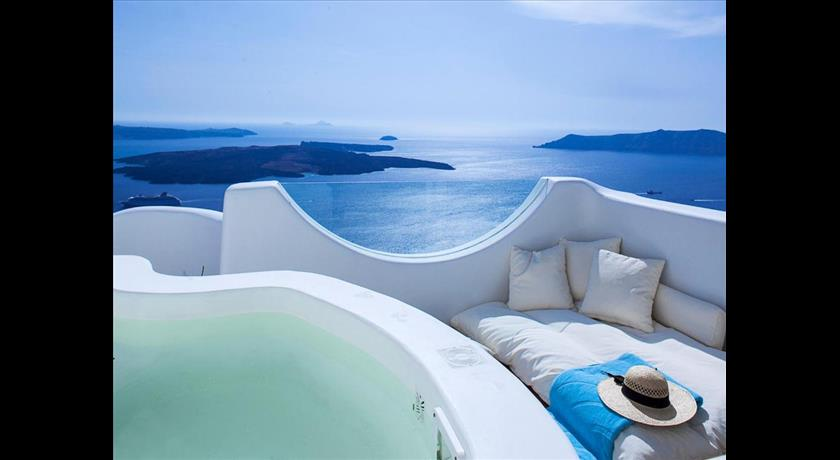 IMEROVIGLI VILLA SLEEPS 9 AIR CON WIFI in Santorini - 2019 Prices,Photos,Ratings - Book Now