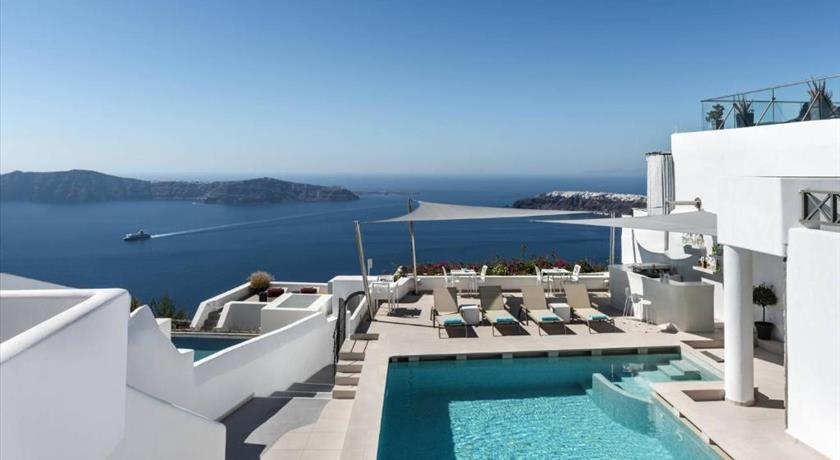 Kasimatis Suites, Hotel in Imerovigli, Greece - Santorini View