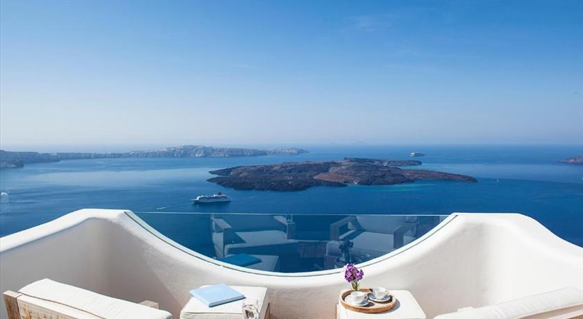Native Eco Villas, Hotels in Imerovigli, Greece - Santorini View
